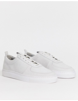 Grenson Leather Sneaker In White by Trainers