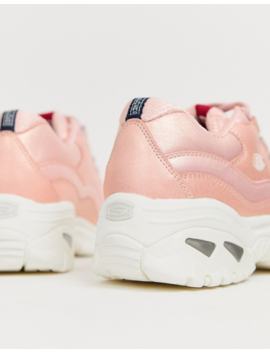 Skechers Energy Wavey Trainers In Rose by Skechers