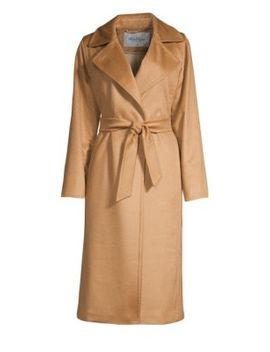 Manuela Belted Coat by Max Mara