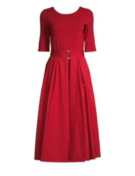 Affine Belted A Line Dress by Max Mara