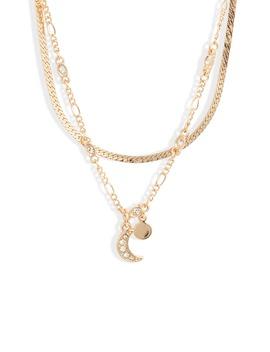 X Claudia Sulewski Layered Charm Necklace by Bp.