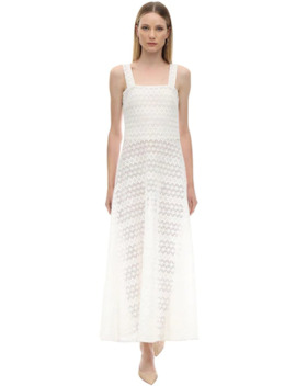 Lucinda MacramÉ Midi Dress by Gioia Bini