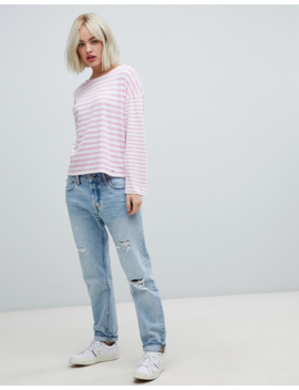 Pepe Jeans Morgan Stripe Long Sleeved T Shirt by Pepe Jeans