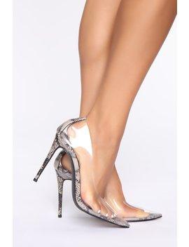 Crystal Pumps   Nude by Fashion Nova
