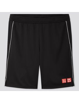 Men Dry Shorts (Roger Federer 19 Us) by Uniqlo