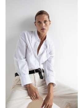 Shirt With Pocket Basicswoman by Zara