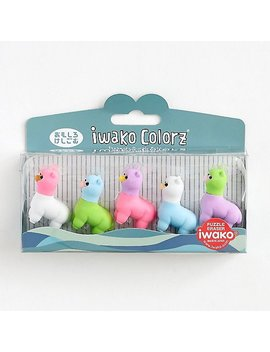 Llama Erasers by Paper Source