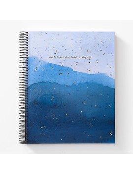 Blue Glaze Journal by Paper Source