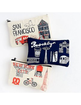 City Icons Pouches by Paper Source