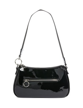 x-claudia-sulewski-faux-patent-leather-shoulder-bag by bp