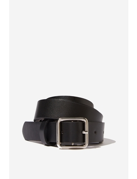 Madison Square Buckle Belt by Cotton On
