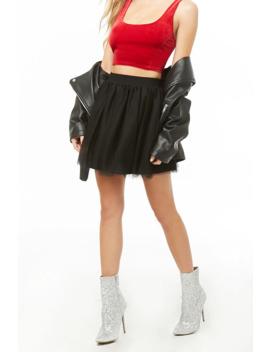 Tulle Mini Skirt by Forever 21