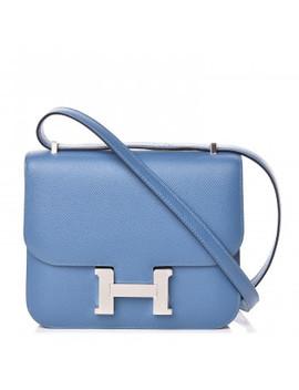 Hermes Epsom Constance 18 Bleu Azur by Hermes