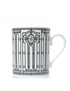 Hermes Porcelain H Deco Mug by Hermes