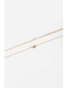 Heart Anklet Set by Forever 21