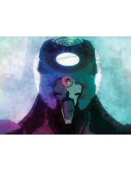 Eva Unit 00 Evangelion Neon Genesis Rei Ayanami Mixed Media Öl Malerei Aquarell Anime No 0061 Art Print Poster by Etsy