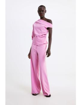 Asymmetric Top Topswoman by Zara
