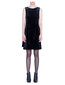 Scuba Velvet Dress by Akris Punto