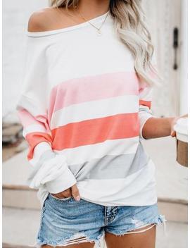 'bella' Color Block Sweatshirt (3 Colors) by Goodnight Macaroon