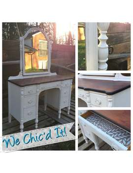 Refinished Antique Vanity   Sold   Example Of Our Work by Etsy