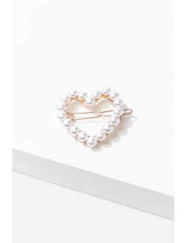 Heart Gator Clip by Forever 21
