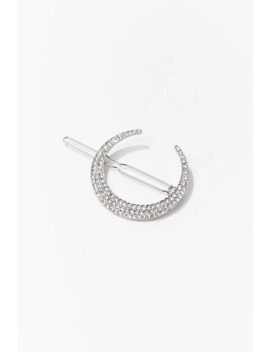 Crescent Moon Hair Clip by Forever 21