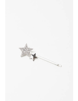 Rhinestone Star Bobby Pin by Forever 21