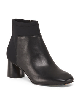 Leather Stretch Booties by Tj Maxx