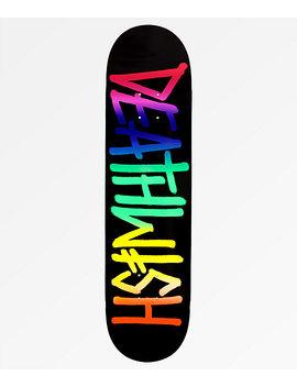 """Deathwish Deathspray Roygbiv 8.0"""" Skateboard Deck by Deathwish"""