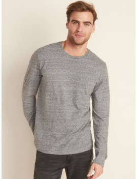 Soft Washed Crew Neck Long Sleeve Tee For Men by Old Navy
