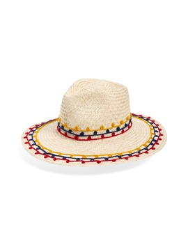 Joanna Embroidered Straw Hat by Brixton