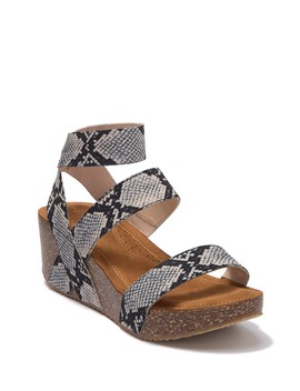 Zoeyy Cork Wedge Sandal by Madden Girl
