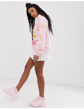 New Girl Order   Oversized Hoodie Met Zon En Maan by New Girl Order