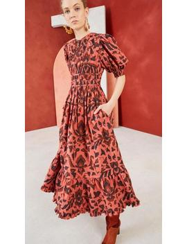 Ulla Johnson Indah Dress   Cinnabar by Garmentory