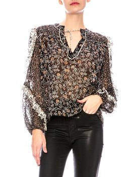 Ulla Johnson Norma Blouse   Noir by Garmentory