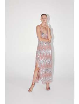 Strappy Dress With Sequins View All Dresses Woman by Zara