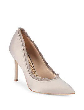 Hadlee Embellished Leather D'orsay Pumps by Sam Edelman
