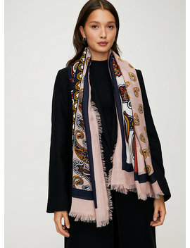 Patch Blanket Scarf by Auxiliary