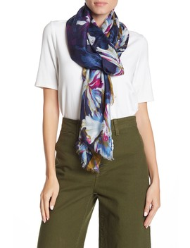 Flora Mania Wrap Scarf by Nordstrom Rack