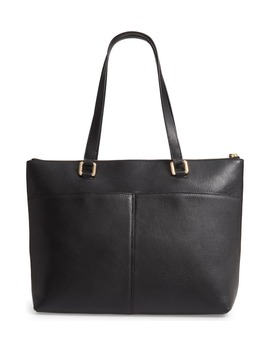 Lexa Pebbled Leather Tote by Nordstrom