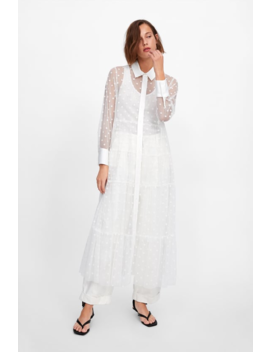 Tulle Dot Dress Collectionsale Woman by Zara