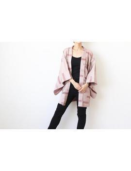 Stripe Kimono, Haori, Japanese Kimono, Haori Jacket, Japan, Kimono Jacket, Haori Women /4268 by Etsy
