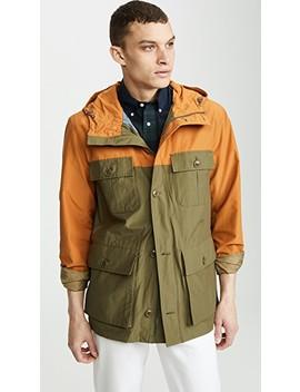Long Colorblock Jacket by J. Crew