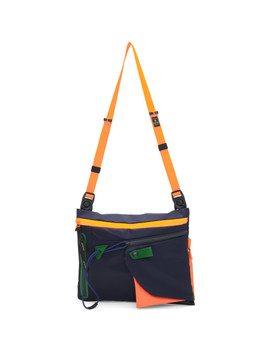 Navy Game Neon Bag by Master Piece Co