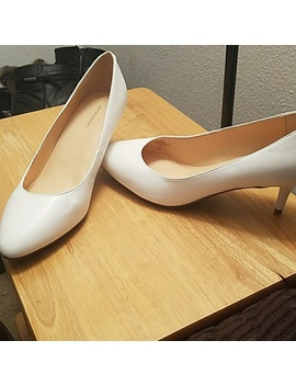White Heels, Nwot by Liz Claiborne