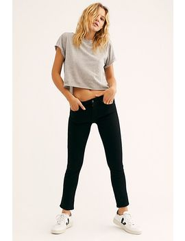 Racer Low Rise Skinny Jeans by Free People