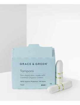 Non Applicator Tampons Super by Grace And Green
