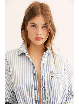 We The Free Railway Days Buttondown by Free People