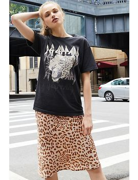 Def Leppard Oversized Tee by Free People