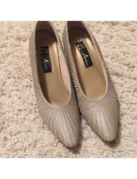 Annie Gold And Silver Heels by Annie